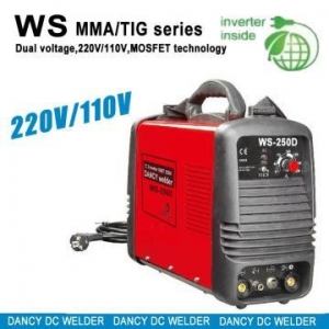 China 220V/110V Inverter dc tig mma welders WS 250D on sale