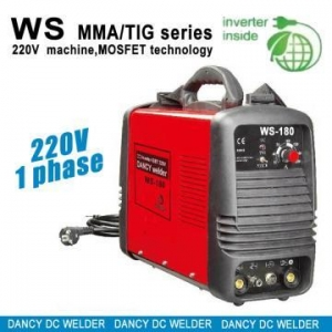 China Tig/mma portable inverter welding machine WS180 on sale