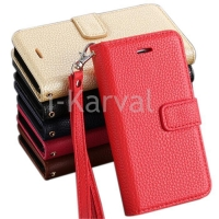 China For Apple For iphone 5s leather case with lichee pattern on sale