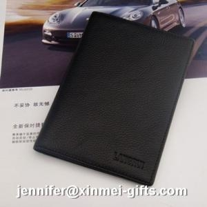 China 2013 genuine leather ID card holder travel passport cover on sale