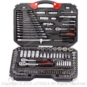 China Service Trolley With Plastic Worktop 218-PC Socket Tool Set on sale