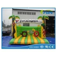 inflatable bouncer Jungle inflatable bouncy Product ID:IF-J005