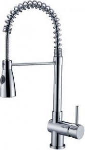 China Rolya Pull Out Spring Kitchen Sink Faucet Mixer Taps on sale