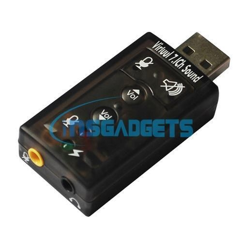 China USB 7.1CH Sound Card