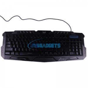 China 3-color LED Gaming Keyboard wholesale