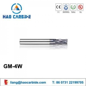 China GM-4W corrugated edges solid carbide end mills on sale