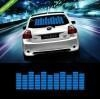 China Sound Music Activated EL Sheet Car Stickers Equalizer Glow Flash led Light on sale