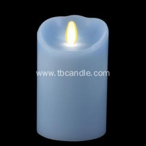 China Ivory Smooth Flicker Dancing Flame Paraffin Wax luminara flameless candles on sale
