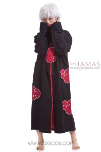 China Cosplay Naruto Akatsuki Itachi Uchiha Cosplay Costume on sale