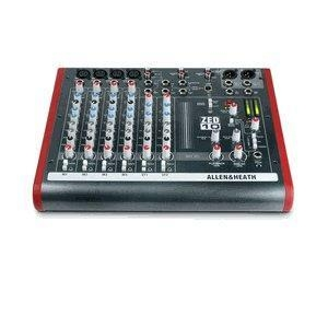 China Allen & Heath ALLEN & HEATH ZED-10 - 4 Mono Mic/Line + 2 Active D.I. + 3 stereo line inputs wholesale