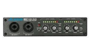 Quality Alesis ALESIS MICTUBE DUO - Stereo Tube Microphone Preamplifier for sale