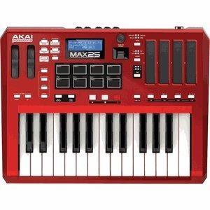 Quality AKAI MAX25 Compact USB /Midi /CV Keyboard Controller for sale