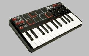 Quality AKAI MPK MINI Mini keyboard & drum pads with assignable controls for sale