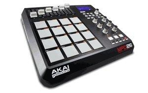 China AKAI MPD26 MIDI-over-USB pad controller with genuine MPC pads.