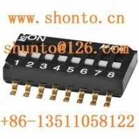 China nkk Switches JS0408FP4-S Subminiature Slide DIP switch Piano type Switches on sale