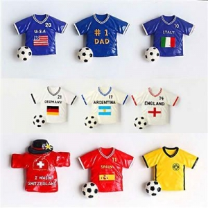 China Resin Pro Football Jersey Magnets on sale