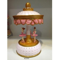 whole sale ballerina music box for promotion gifts wedding gifts kids gifts