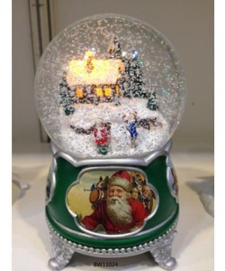 China wholesale musical instruments musical box gifts home snow globe on sale