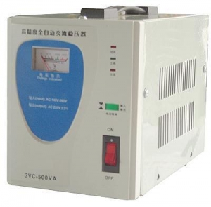 China Voltage Stabilizer TVR-500VA ac automatic voltage regulator on sale