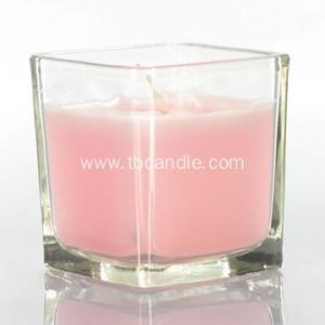 China Apple Harvest Spice Scented Soy wax Candle in Glass Jar on sale