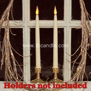 China Party decoration Flameless colorful LED taper candle on sale