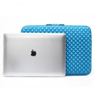 China Gearmax High Quality Embossed Dimond Neoprene Laptop Sleeve Bag for Macbook Air 13.3'' on sale