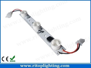 China 9W Edge-lit CREE high power LED strip with lens on sale
