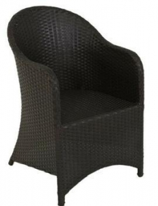 China Outdoor aluminum frame wicker rattan armchair on sale