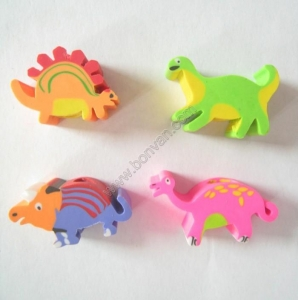 China animal gift eraser on sale