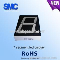 China 1 digit Seven segment led display 3.0inch of 1 digits on sale