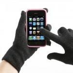 China Winter Warming Knitted Touch Screen Gloves on sale