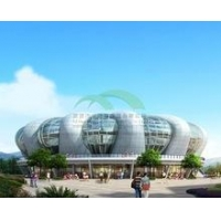 China Environmental PTFE Tent Tensile Membrane structure/ Architecture Tensile Membrane Structure on sale