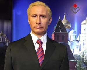 China Famous Politican Silicone Wax Figures Putin on sale