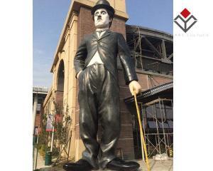 China World Celebrity And Movie Character Star Wax Figure Chaplin on sale