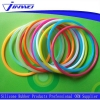 China O-Rings Good chemical property and colorful silicone o rings for sale