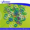 China O-Rings Colorful Mini Silicone O Ring for sale