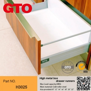 China H3025-01 High kitchen cabinet drawer boxes on sale
