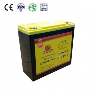 China 12V 18AH Electric bike motive battery on sale
