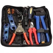China Lensun MC3 MC4 Solar Crimping Tools /Solar PV Tool Kits, Crimper&Stripper&cutter&spanners on sale