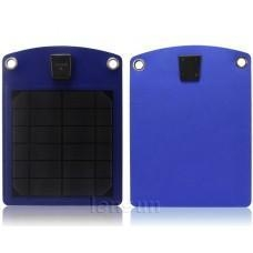 China Lensun Blue 5W 6V Portable Outdoor Solar Panel USB Charger for Mobile Phone,iPhone,Samsung on sale
