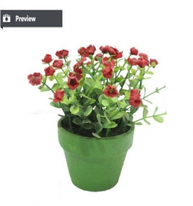 China Artificial little potted plant on sale