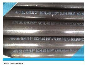 China ERW steel pipe API 5L Line pipe on sale