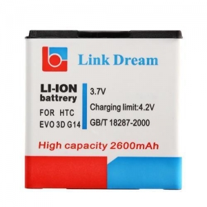 China Battery for HTC EVO 3D/G14/G18/G21 on sale