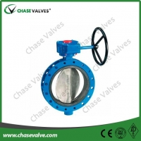 double flanged butterfly valve Double Flange Type Concentric Butterfly Valve