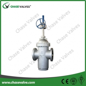 China 20 Inch Cast Steel Slab Gate Valve Gear Operated on sale