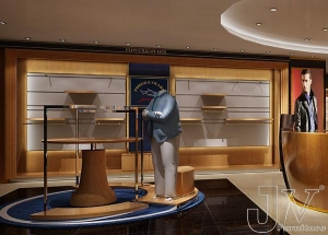 China retail clothes store fixture,men clothing store display on sale