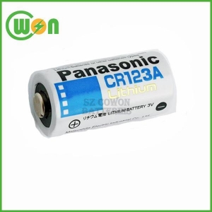 China Panasonic CR123A Lithium Battery Cell on sale