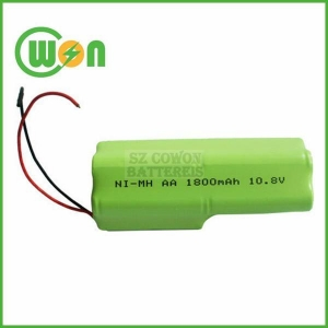 China NIMH AA Battery Pack 10.8V 1800mAh on sale