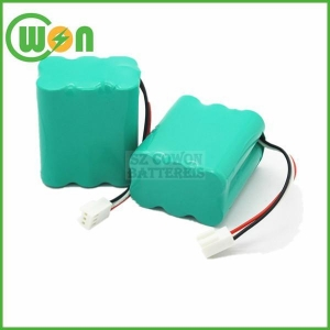 China 7.2V AA Battery Pack 1200mAh NIMH Battery Pack on sale