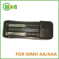 Charger for NI-MH AA AAA Battery, Two Channels
